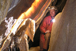 Jeskyně Pod Javorkou - záclona