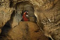 Jeskyně V suti - chodba